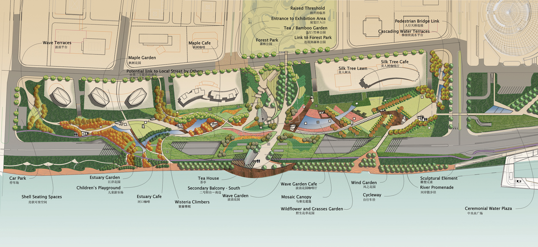 Ki studio city regional planning for Garden planning and design